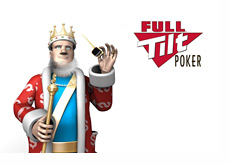 The King is taking his shades off while reporting the latest update from Full Tilt Poker
