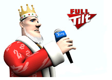 poker king is reporting from the ftops viii full tilt tournament