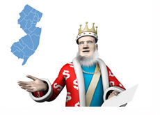 The King is reporting news - New Jersey Online Gambling - Opening and Initial Numbers