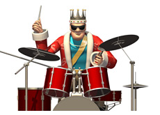 -- martonas is doing well at full tilt this month - king on drums --