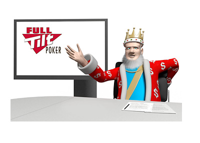 The King is reporting live from his studio - Full Tilt Poker payments for U.S. residents