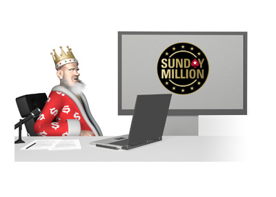 The King report on Pokerstars Sunday Million (Ten Million this month) - Studio, TV