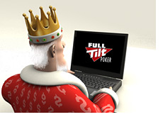 poker king is surfing the full tilt poker website