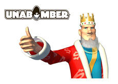 -- The King is giving a thumb up for Unabomber --