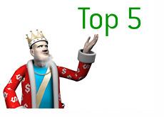 The King Top 5 List
