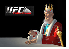-- poker king having his coffee - thinking about the new ufc poker room --
