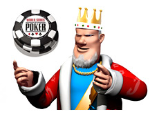 wsop main event buyin - king is wondering if the amount should be increased