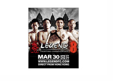 Legends Fighting Championship 8 - Poster