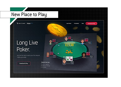 Runitonce is a new place to play poker on the net.  Extensive library of learning material is available.