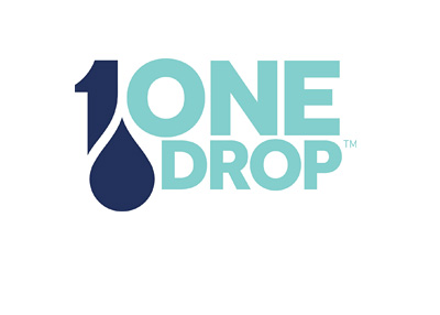 One Drop logo - Charity / poker tournament / initiative.