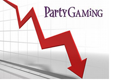 company stock - partygaming - low