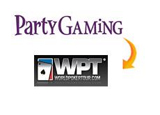 -- partygaming buys world poker tour --