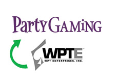 -- company logos - party gaming and world poker tour enterprises inc --