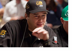 Phil Hellmuth at the WSOP 2010