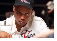 Phil Ivey with a very serious look
