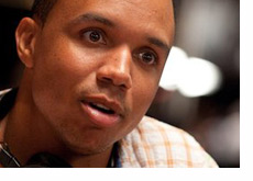 Phil Ivey radiating positivity