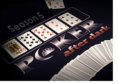 logo and cards on the table - poker after dark - season 5