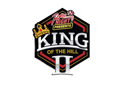 PokerNight - King of the Hill II (2) - Logo on white background.