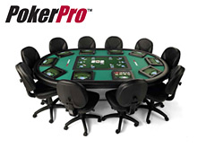 pokertek - pokerpro - poker table - electronic - digital