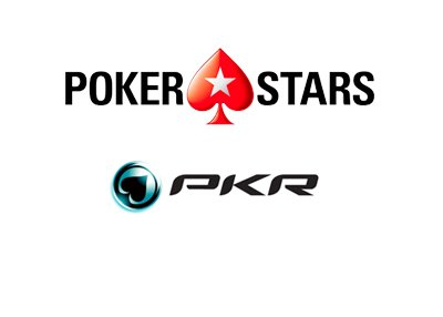 Pokerstars and PKR.com logos - Brands as they are in year 2017.