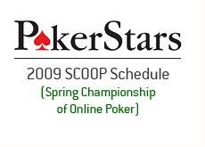 spring championship of online poker - scoop - pokerstars - 2009