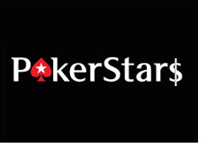 pokerstars logo with a money sign - poker stars - pokerstars.com