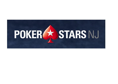 Pokerstars New Jersey - Logo with blue felt background