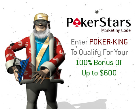 Pokerstars November Marketing Code - Presented by the King