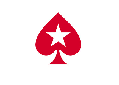 Pokerstars abbreviated logo - Red spade with a star in the middle