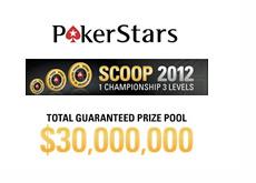 Pokerstars SCOOP (Spring Championship of Online Poker) 2012