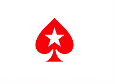 Pokerstars Logo - Red spade with a star in the middle