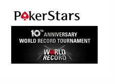Pokerstars World Record attempt - Largest ever online poker tournament