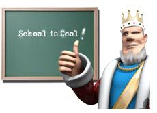 school is cool king