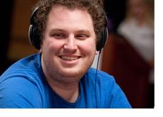 Scott Seiver wearing a blue shirt - Smiling