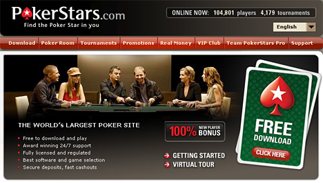 screenshot - poker room - pokerstars - marketing code
