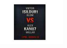 Superstar Showdown - Alexander Kanu7 Millar will take on Viktor Isildur1 Blom
