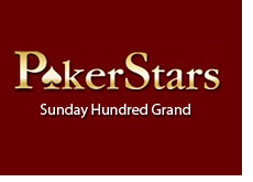 pokerstars poker room - sunday hundred grand - logo
