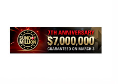 Pokerstars Sunday Million 7th Anniversary