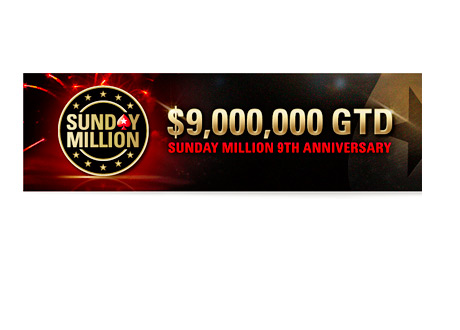 Sunday Million - 9 Year Anniversary Special - 9 Million Dollars Guaranteed