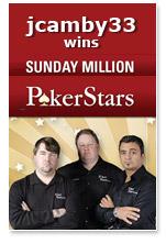 sunday million pokerstars