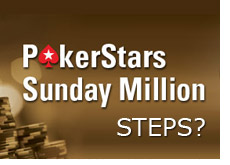 king is saying that pokerstars should introduce steps into their pokerstars sunday million tournament
