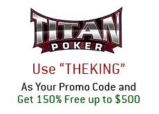 titanpoker.com promo code - marketing titan