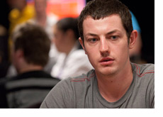 Tom Dwan in the thinking mode