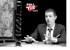 -- Tom Dwan doing his magic at the poker table - Still from the most recent Full Tilt commercial --