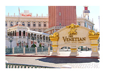 The Venetian Hotel - Las Vegas - Entrance
