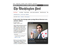 Screenshot of The Washington Post article about Steven Silverman aka Zugwat
