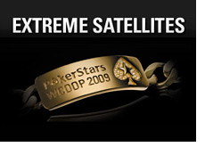 -- world championship of online poker - pokerstars.com - extreme satellites --