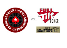 -- full tilt poker mini ftops vs. pokerstars wcoop --
