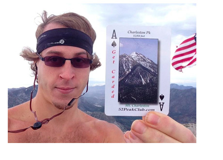 William Reynolds Twitter Picture - Holding an Ace - American Flag