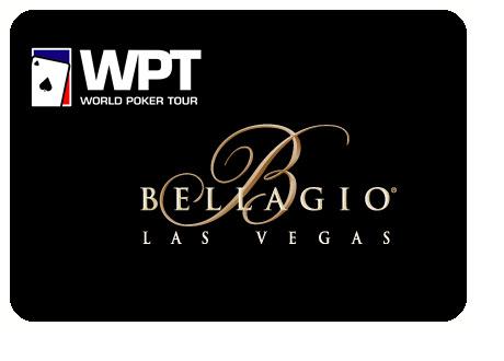 WPT and Bellagio logos on black background - World Poker Tour